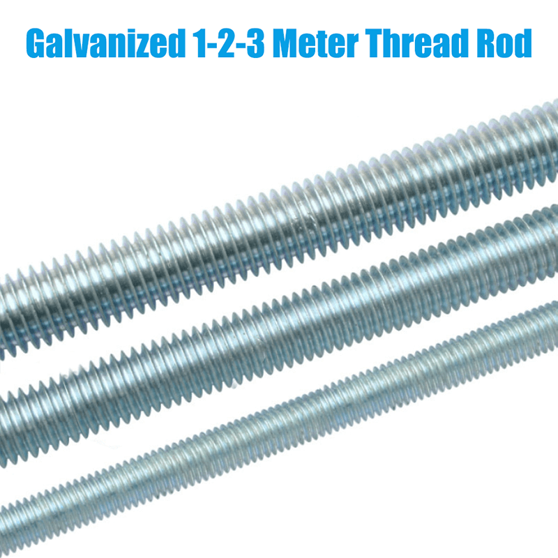 M6-M24 galvanized 4.8 level threaded screw, fully threaded screw